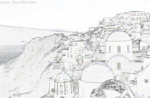 Santorini, Greece 2014 by Shiho